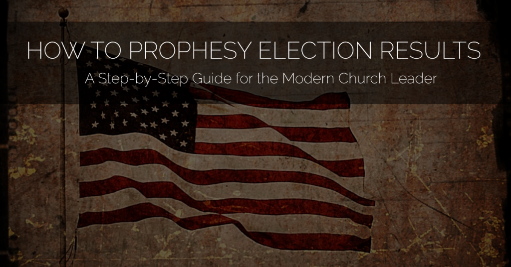how-to-prophesy-election-results